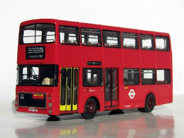 Jotus RS76607 RESIN B55 VOLVO AILSA ALEXANDER V1 BUS LONDON TRANSPORT ROUTE 170